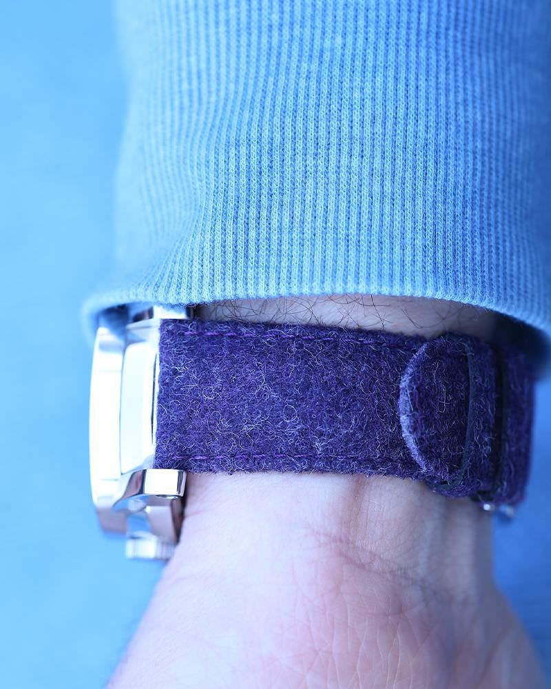purple watch strap