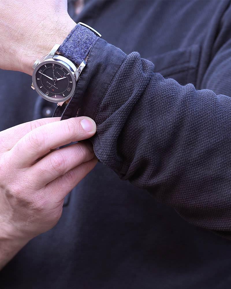luxury purple watch strap