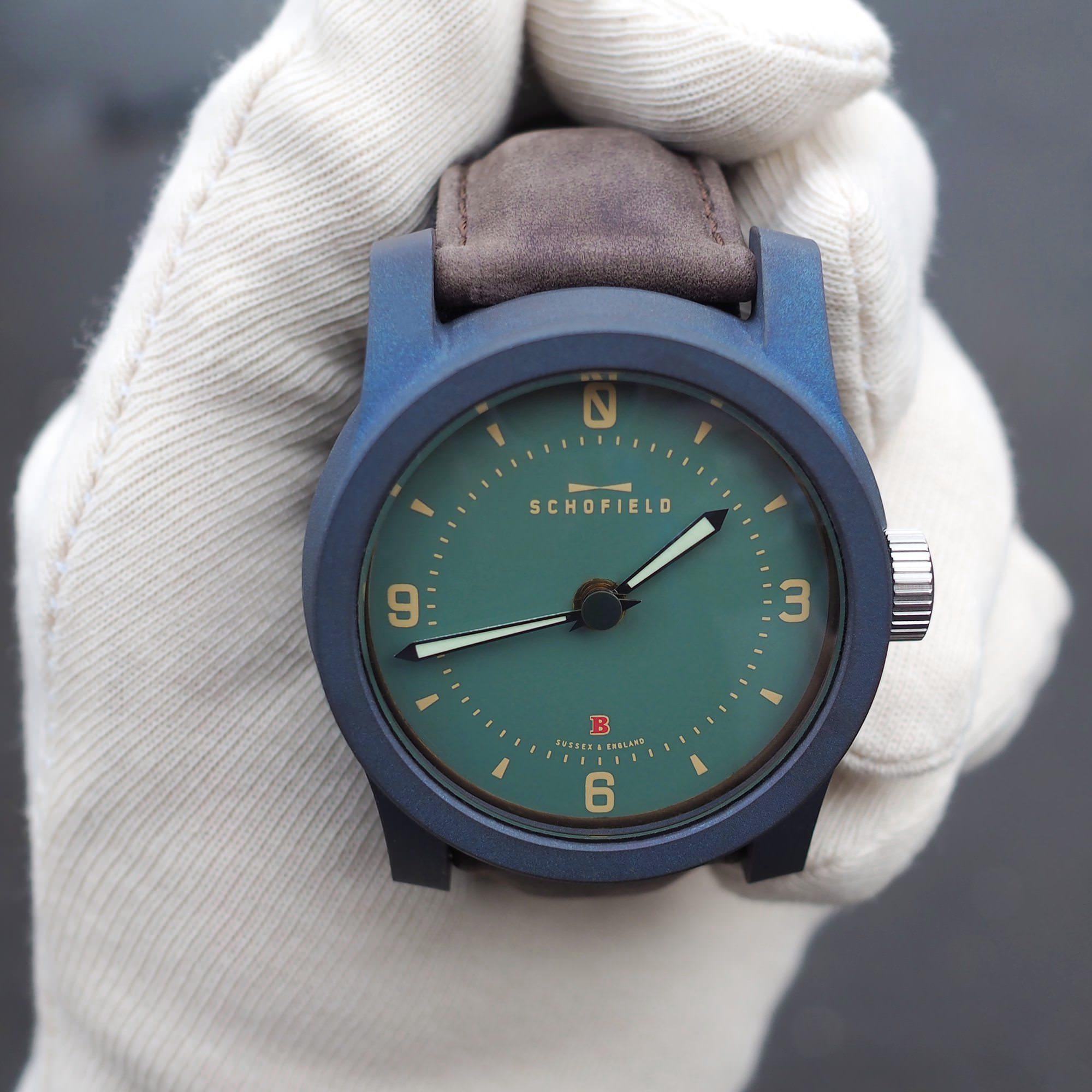 Schofield English made watches- titanium Beater