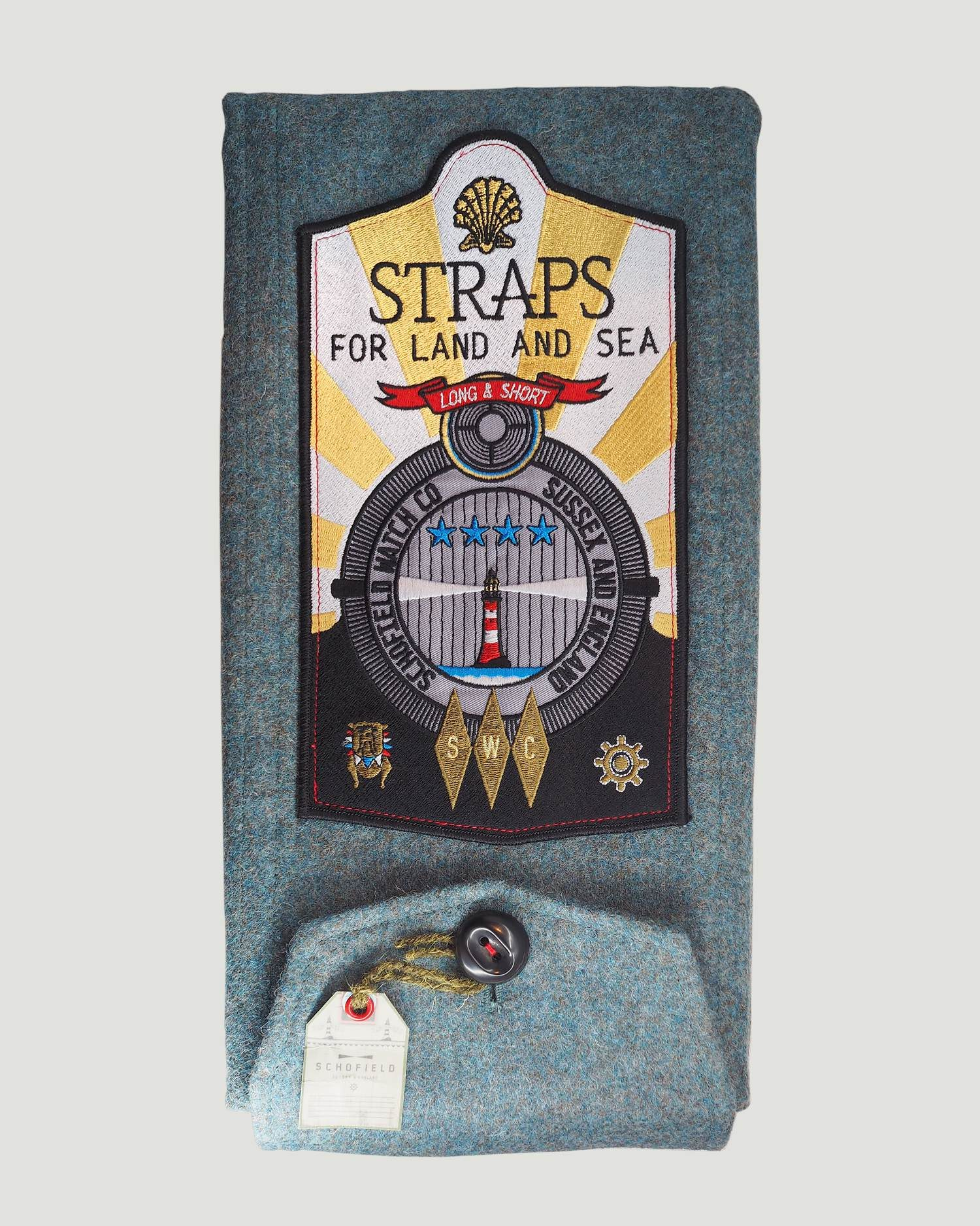 luxury cloth strap holder