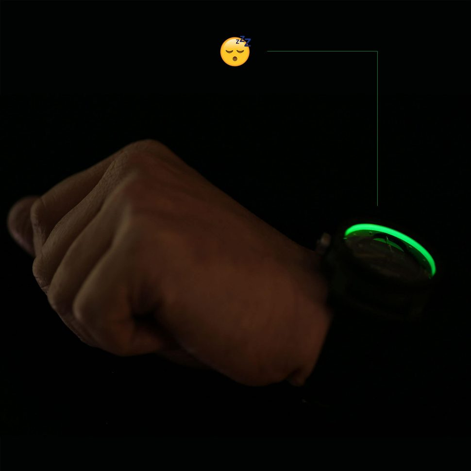 Blacklamp watch