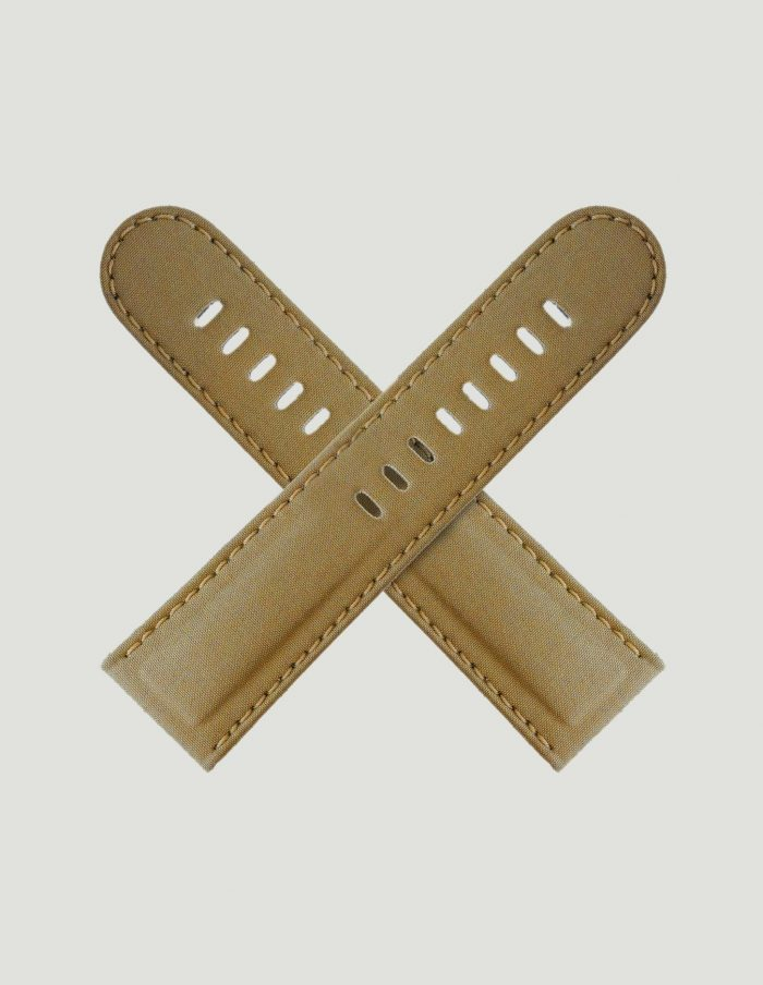 Bronze coloured watch strap