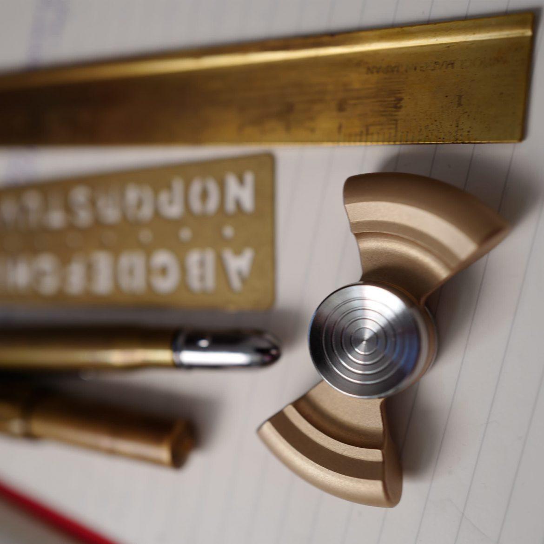 Bronze high-end fidget Spinner