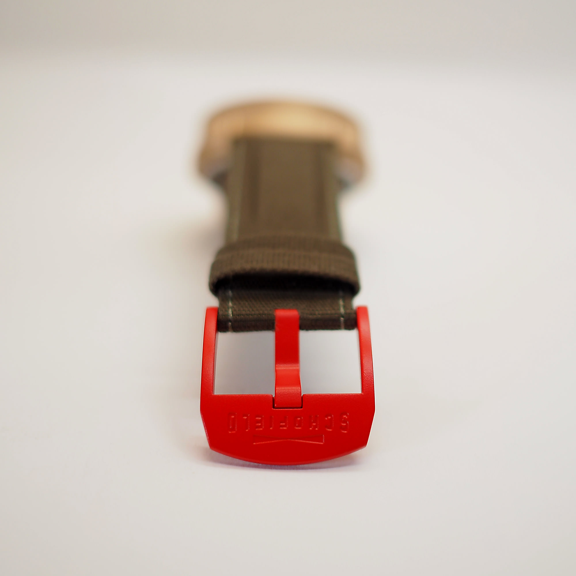 Red Ceramic Buckle