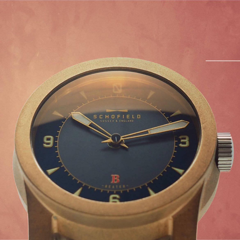 Bronze watch