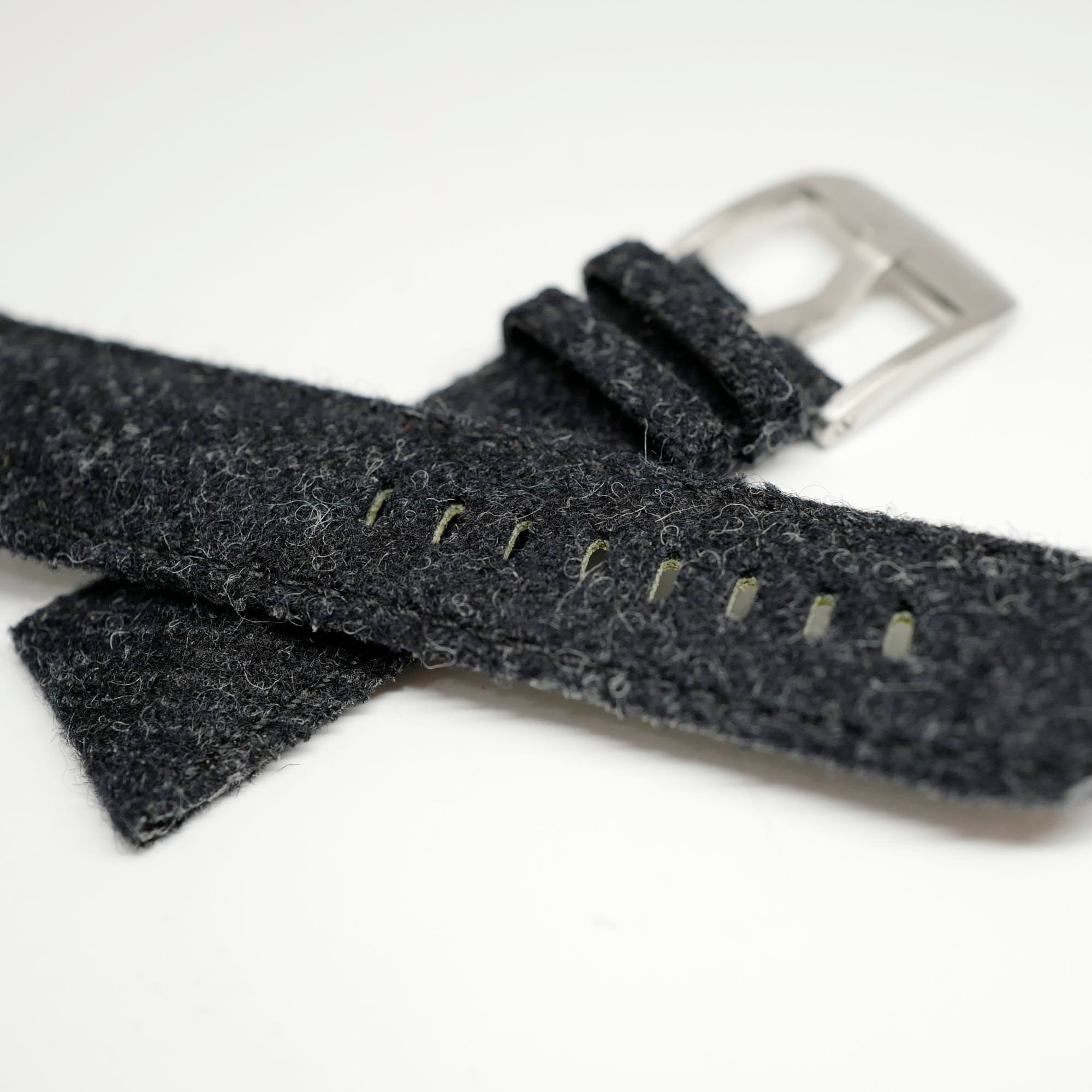 Black Tweed straps