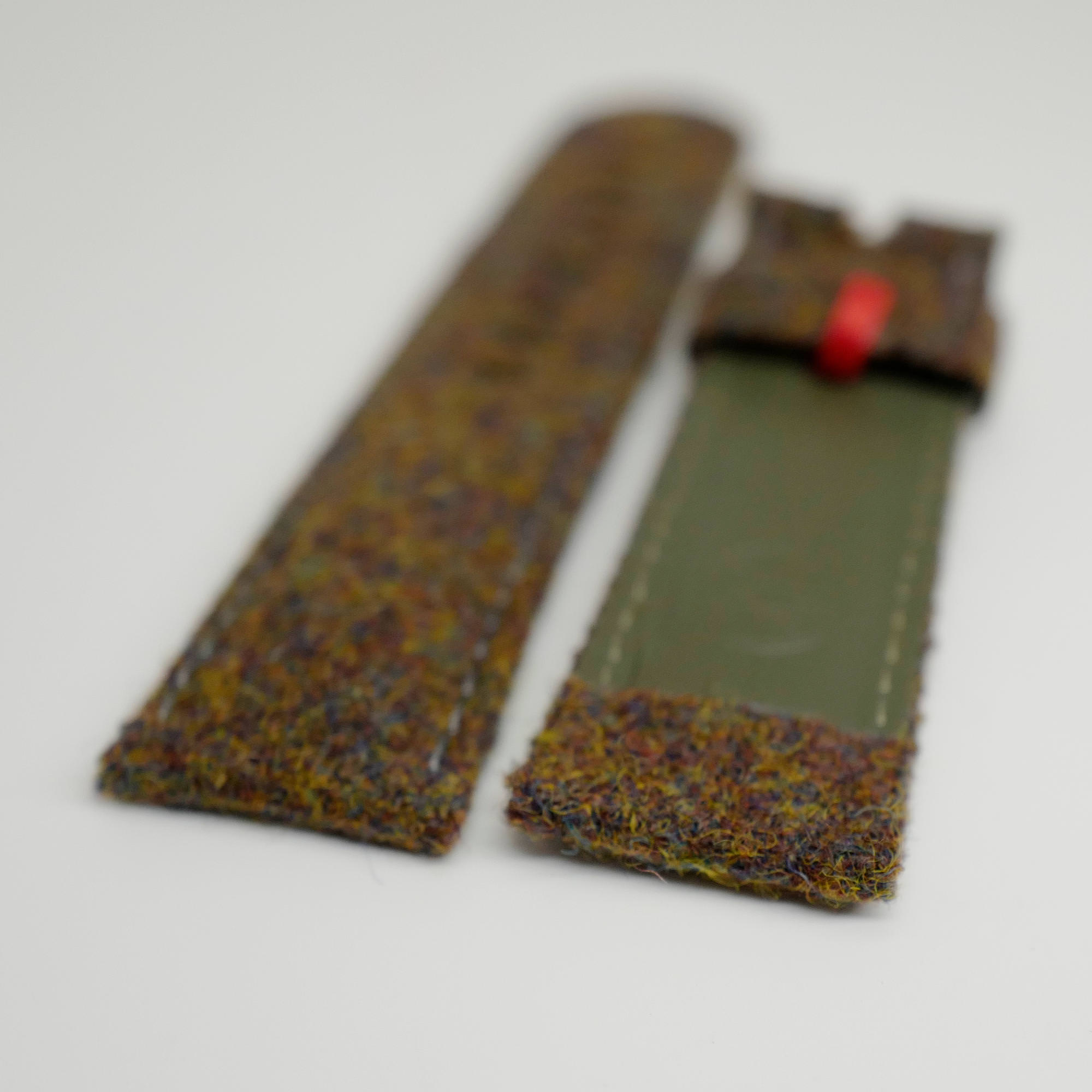 Green Tweed strap