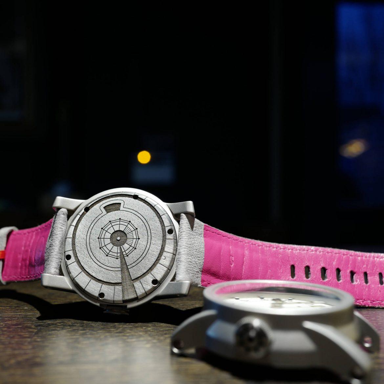 White dialled Telemark watch