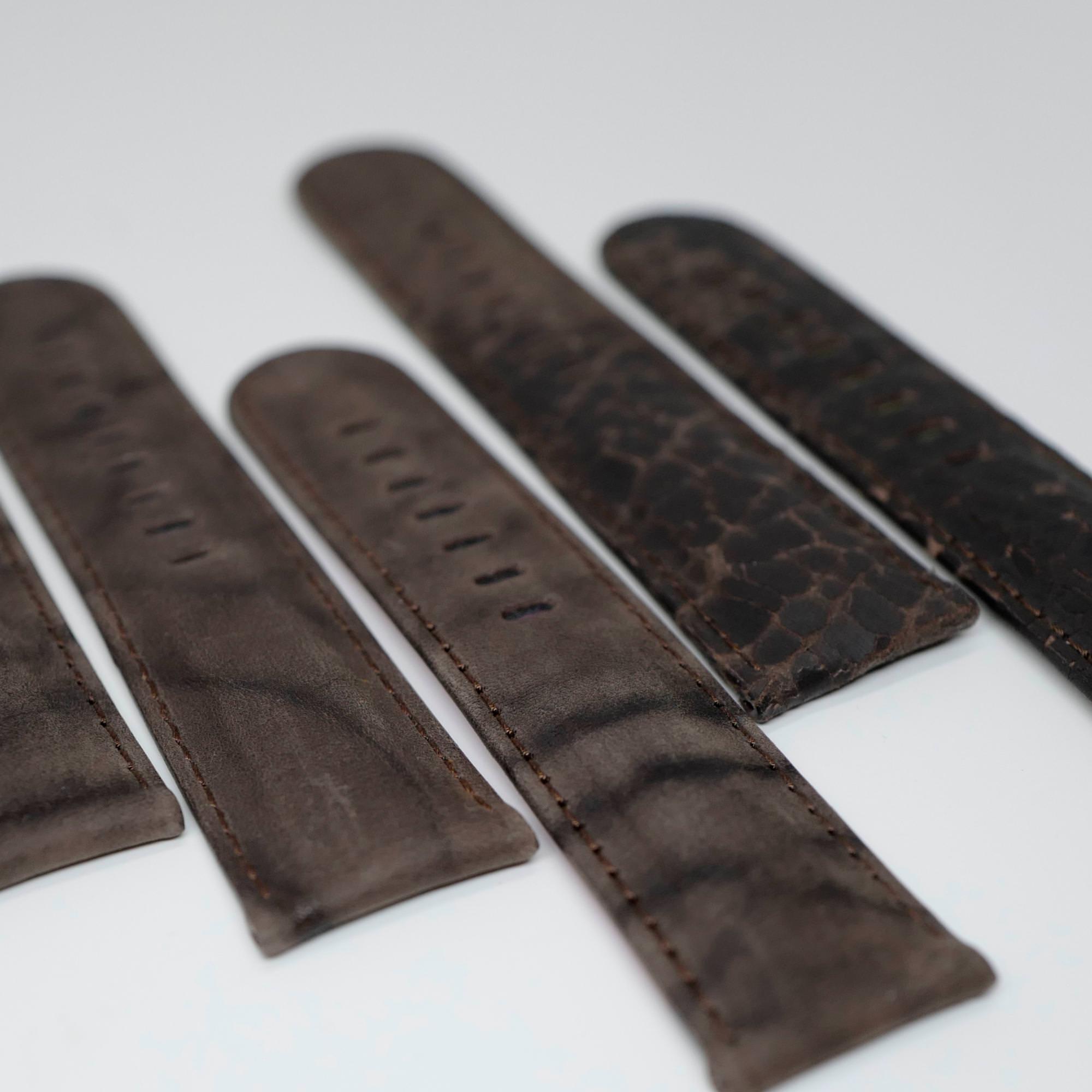 Dark Brown Tigerloaf straps
