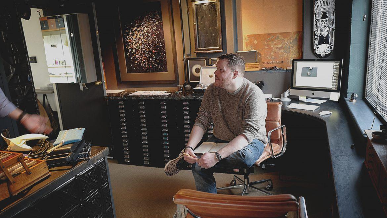 Chris Man at Schofield HQ