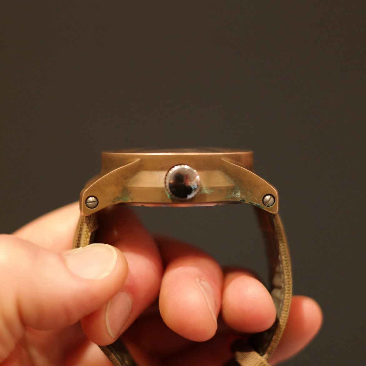 How to clean a bronze watch