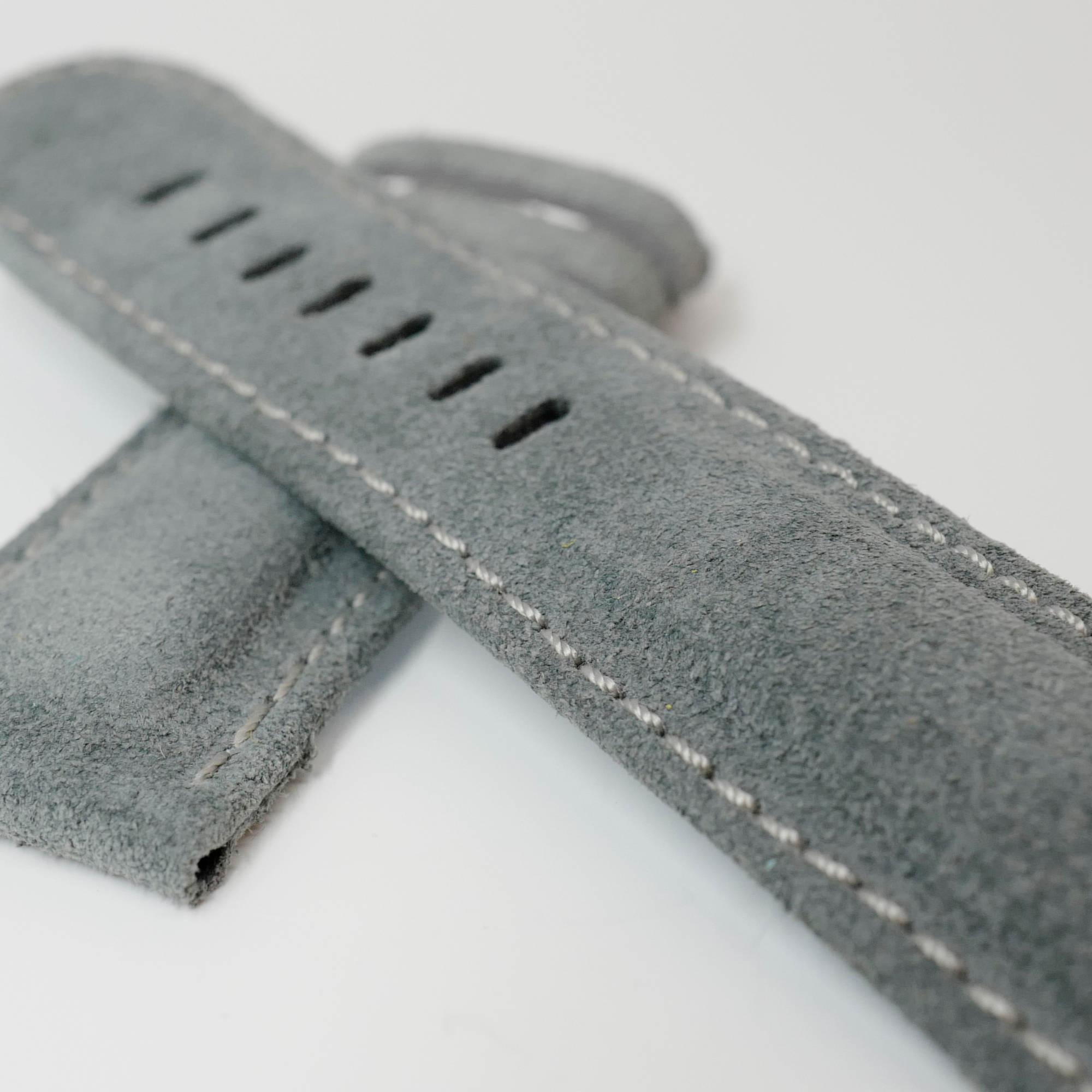 Luxury blue watch strap