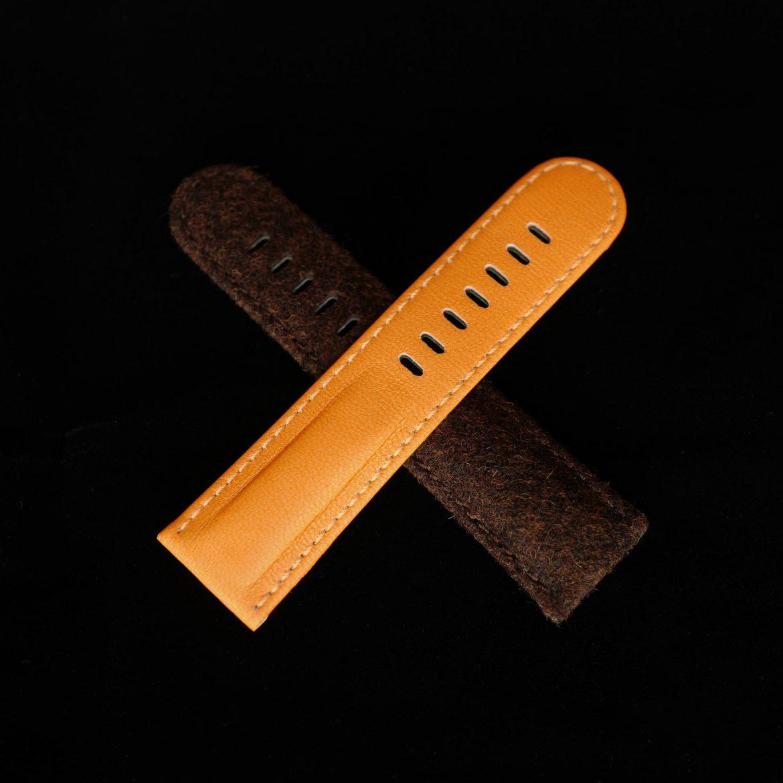 Schofield luxury orange Watch Straps