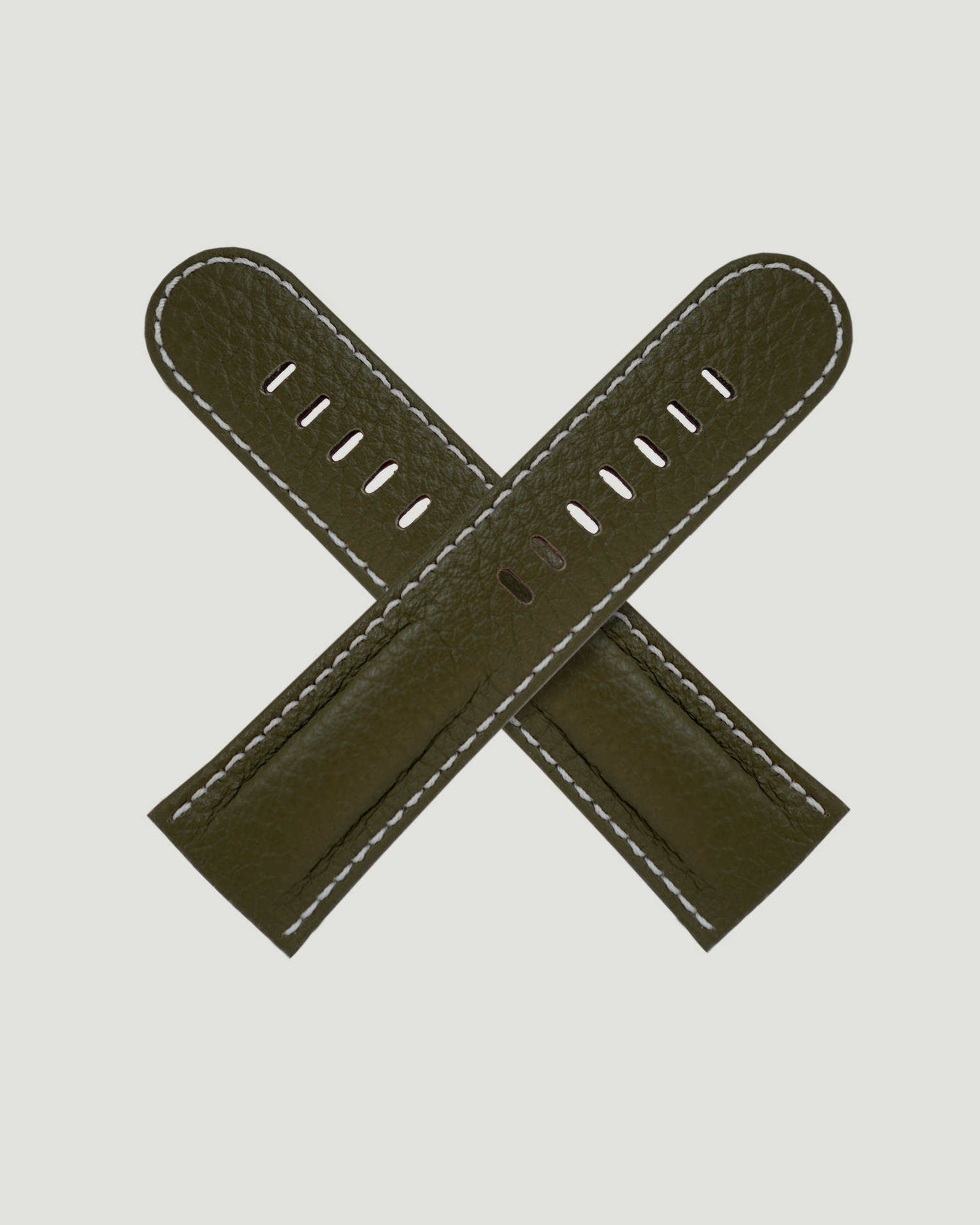 Green pebble strap