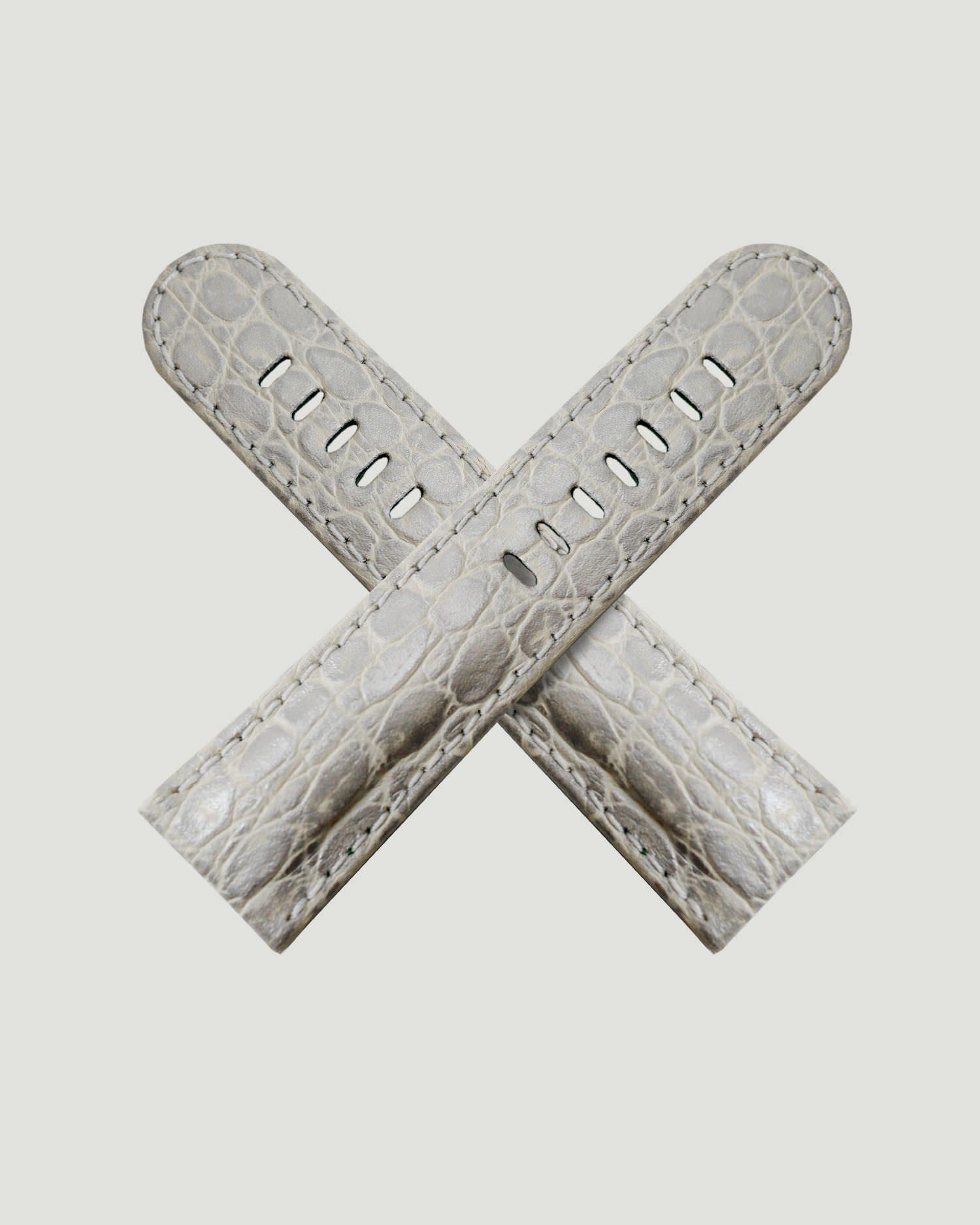 Silver Crock Strap