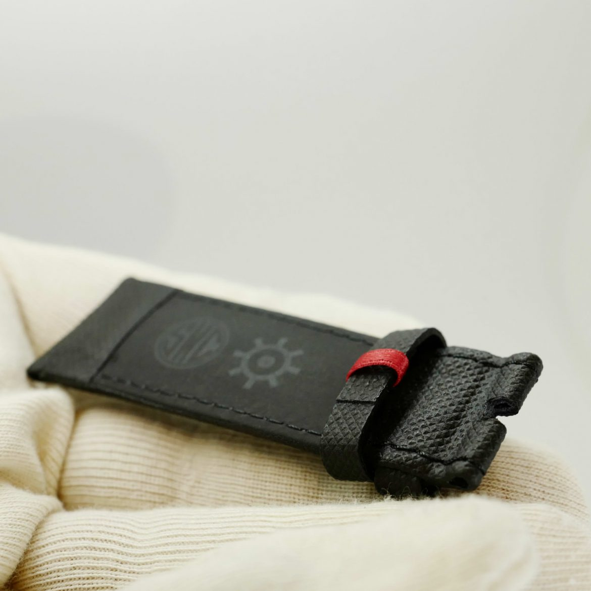 Black Quadrant leather