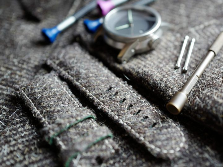 Herdwick Tweed in focus