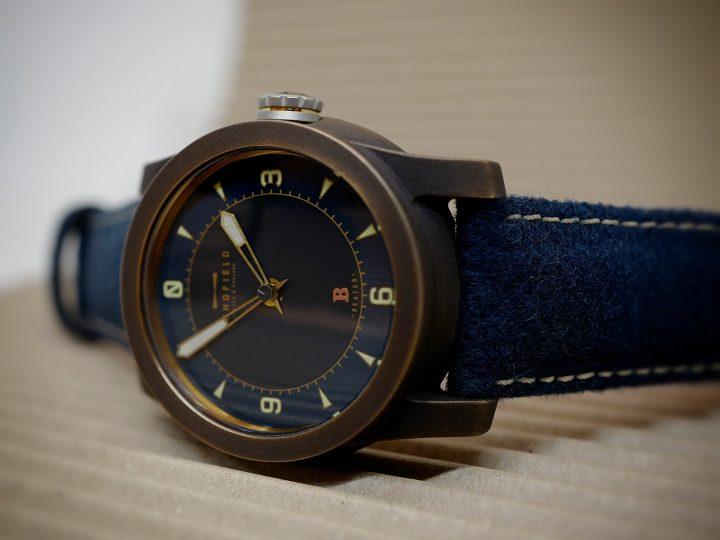 Blue Moon strap – Blue dial watch