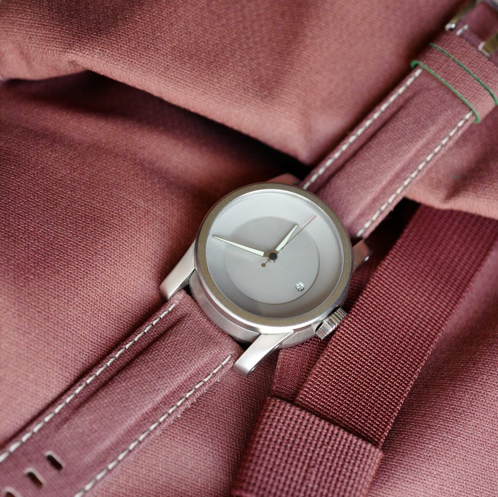 Rust Millican watch strap