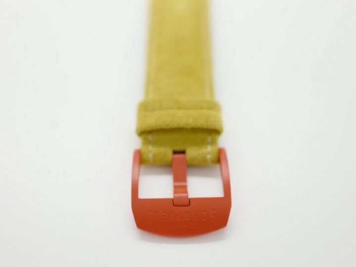 Cracking yellow watch strap and orange buckle!