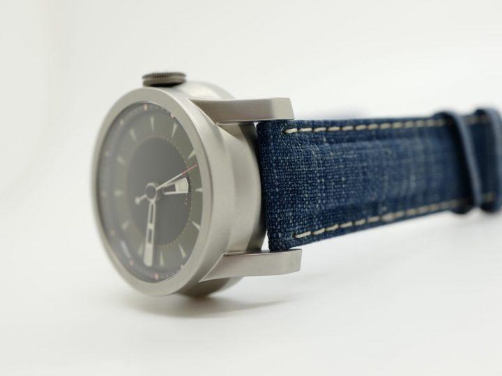 Japanese Indigo watch straps