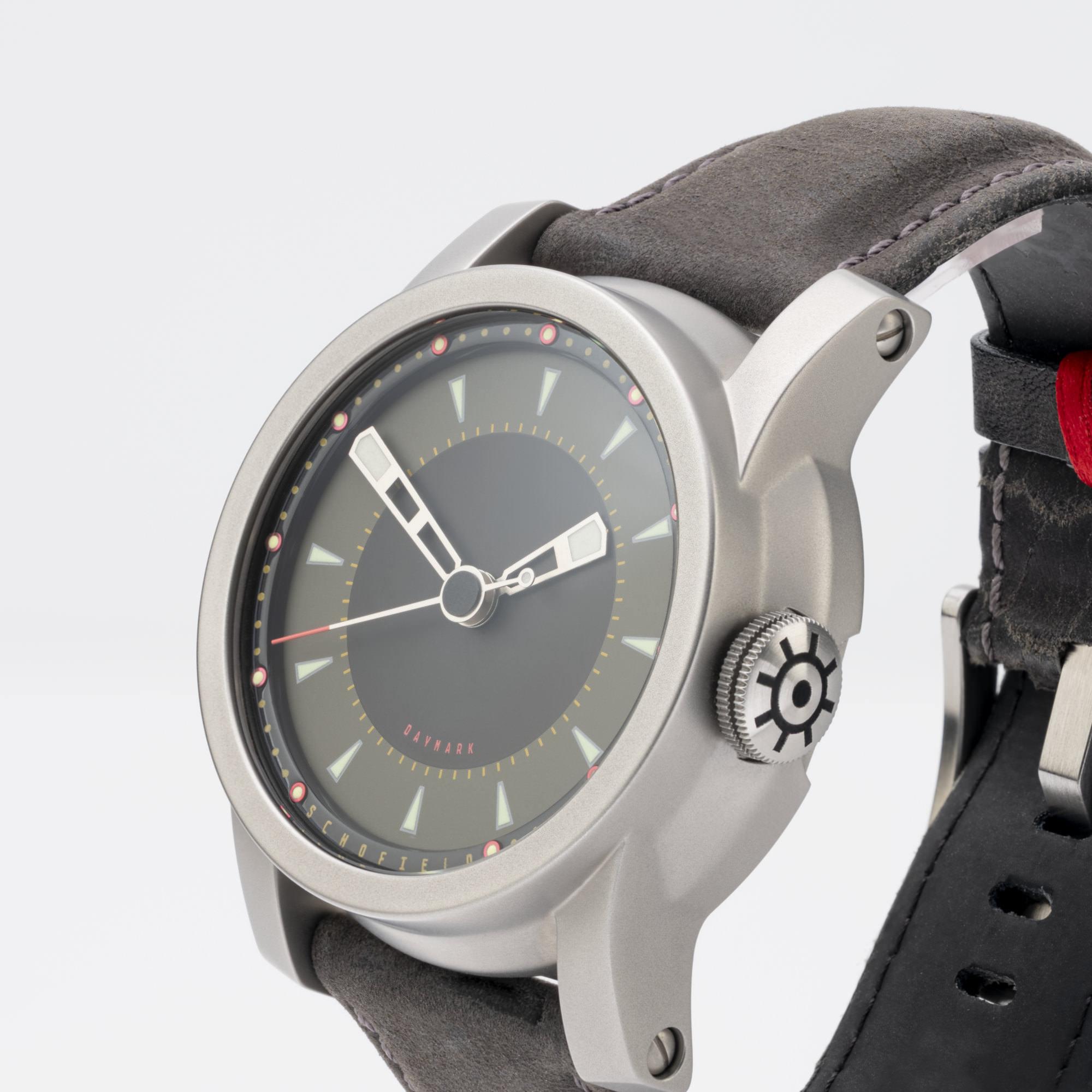 Schofield green dialled watches