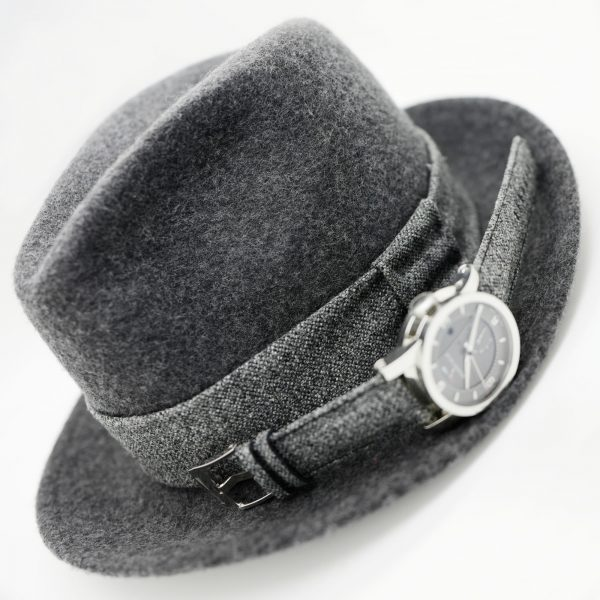 hat and strap