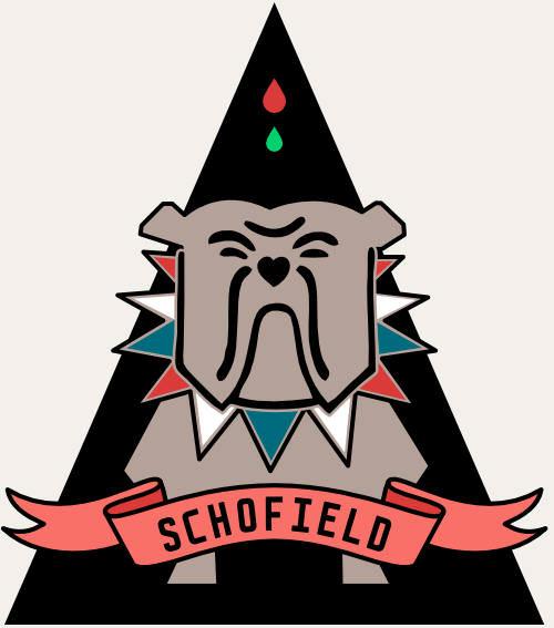 Schofield Bulldog sticker