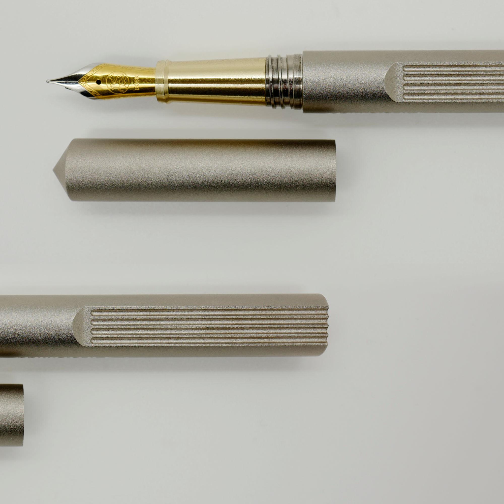 Aluminium luxury fountain pen