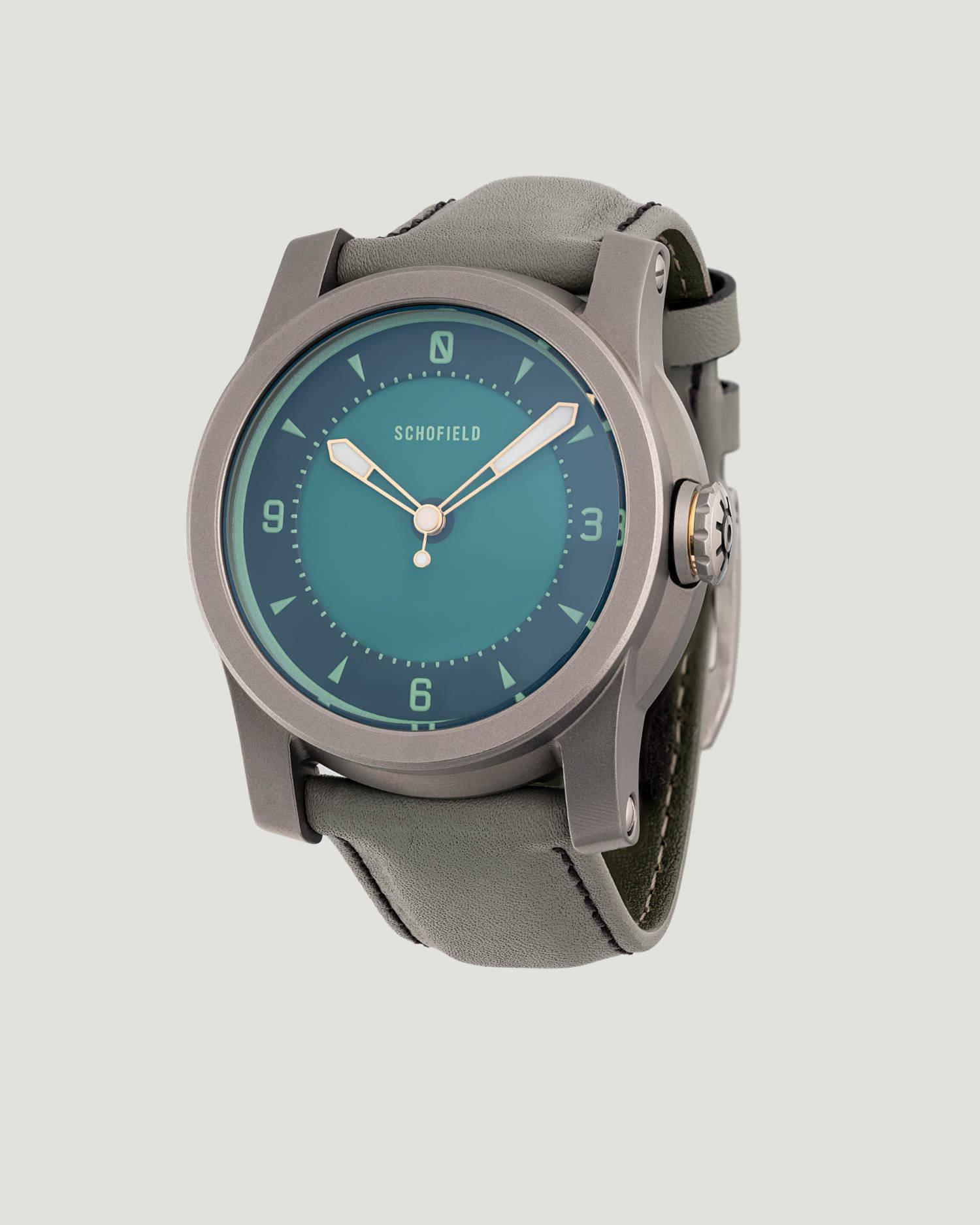 Limited edition titanium watch