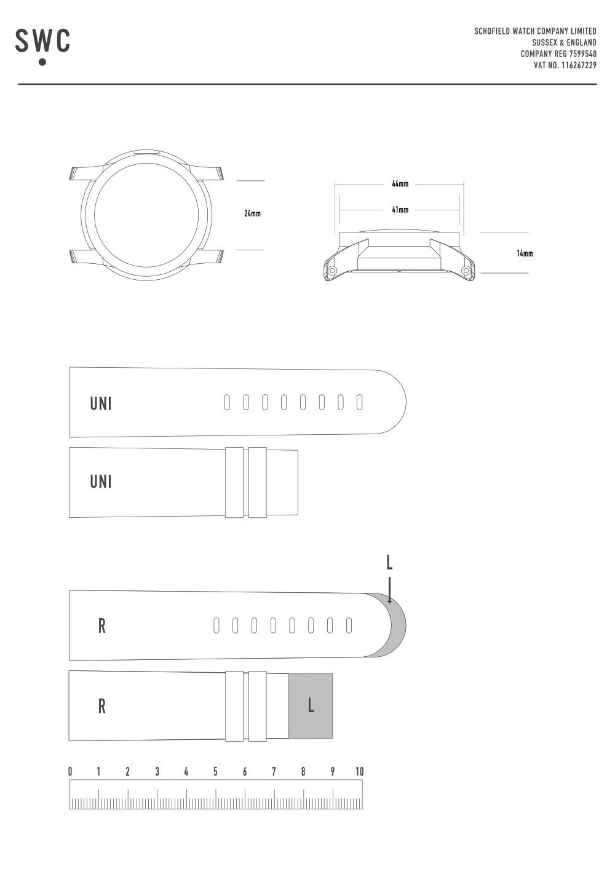 Strap size guide