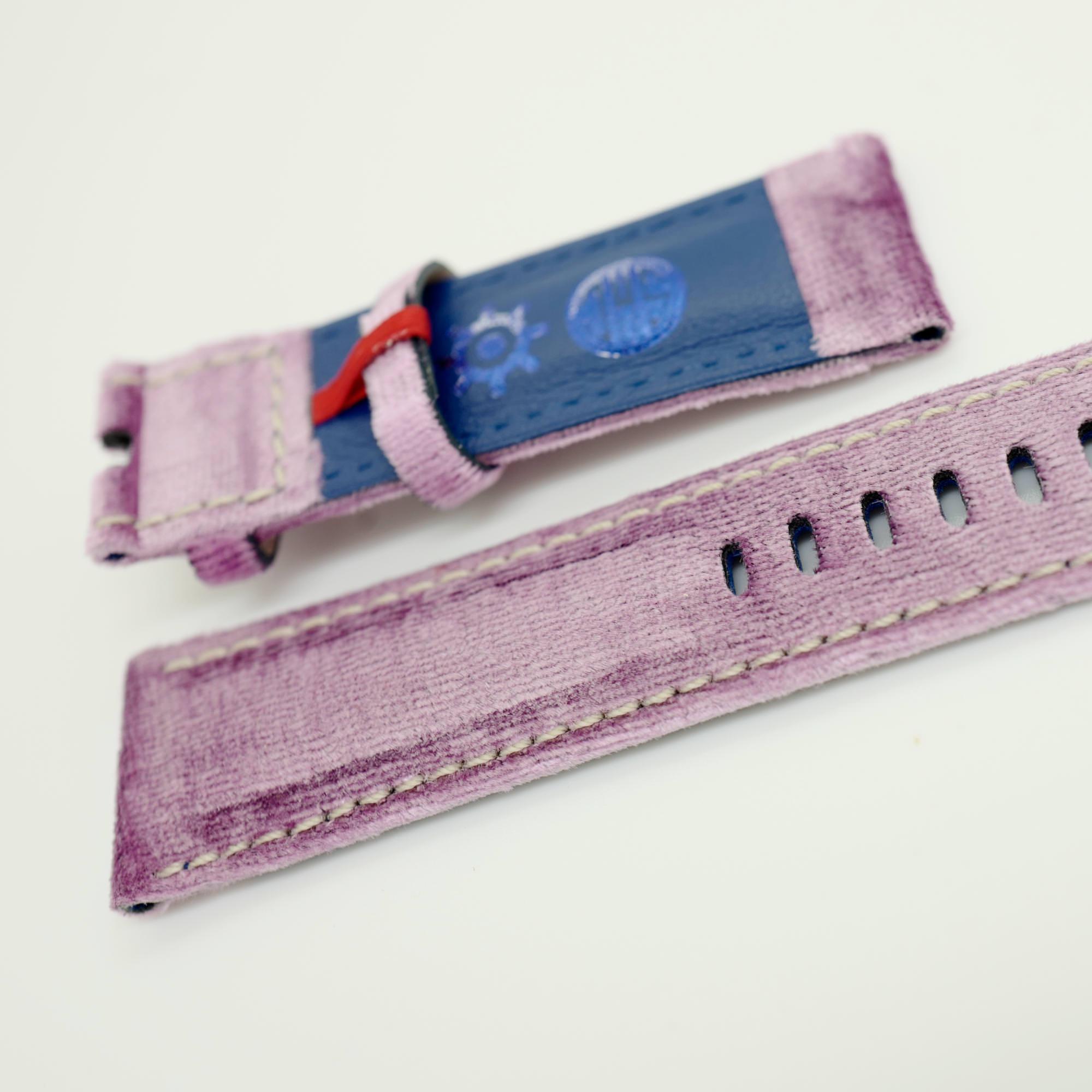 Velvet strap