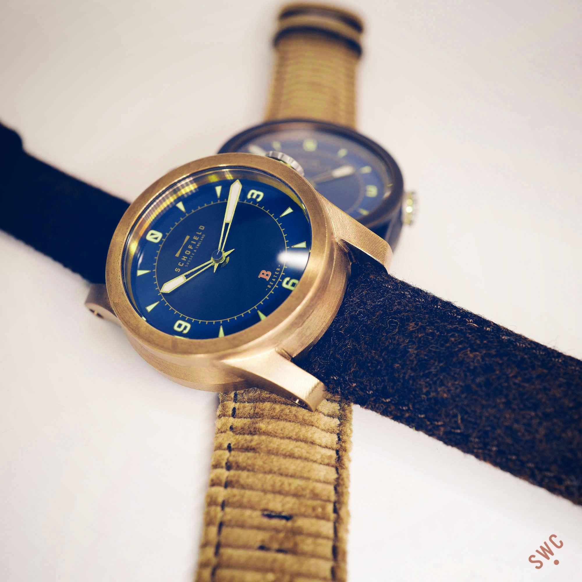 Bronze watches made in Britain