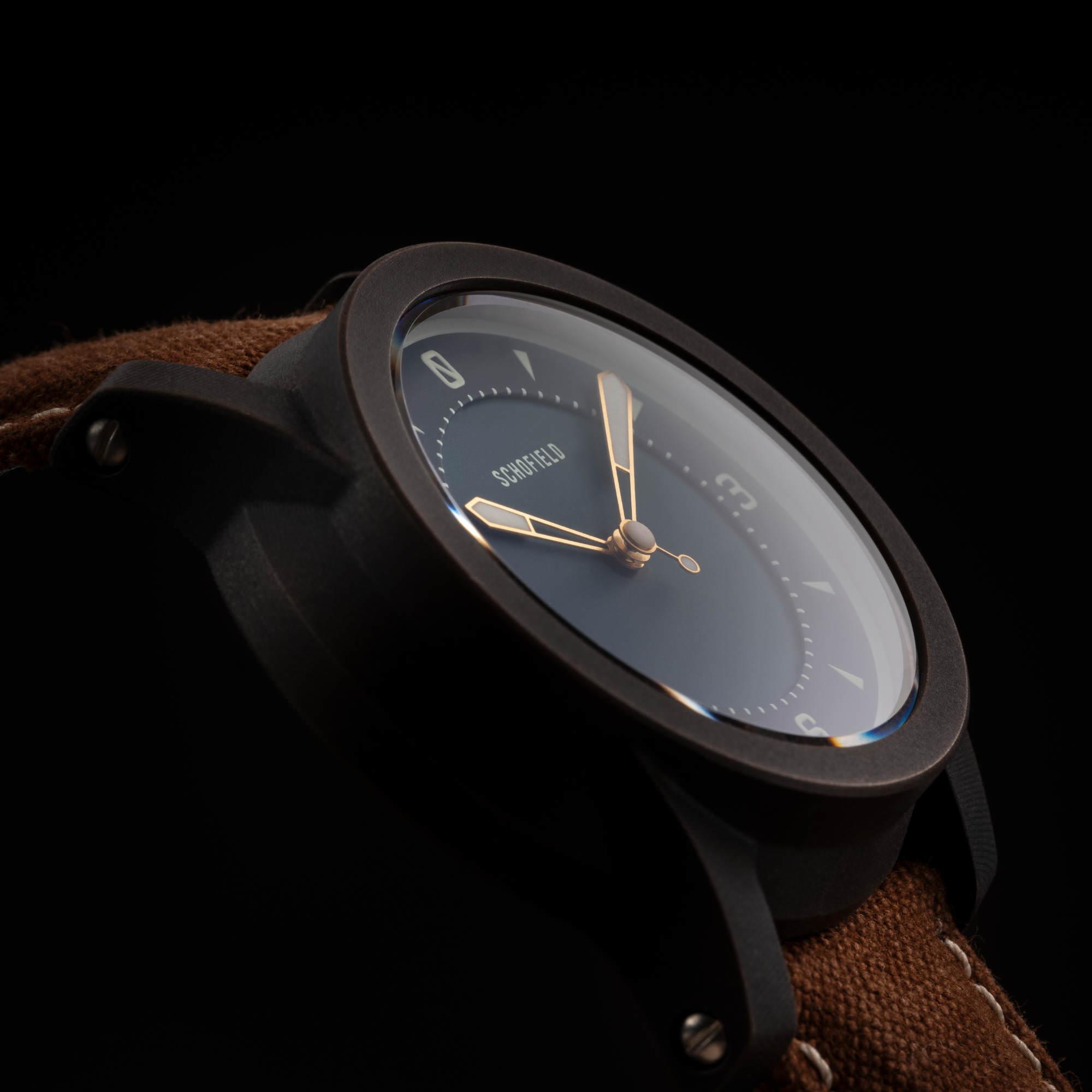 Bronze Indigo watch