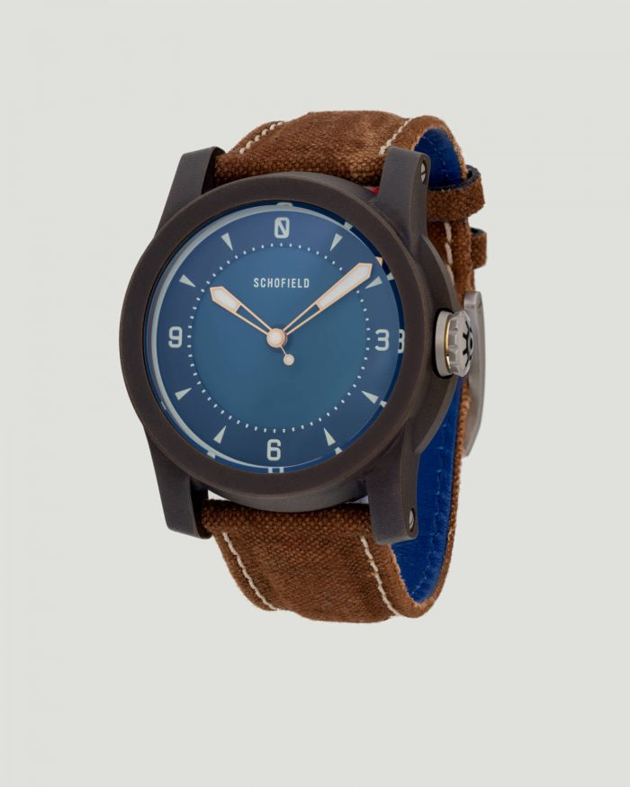 Japanese bronze watch