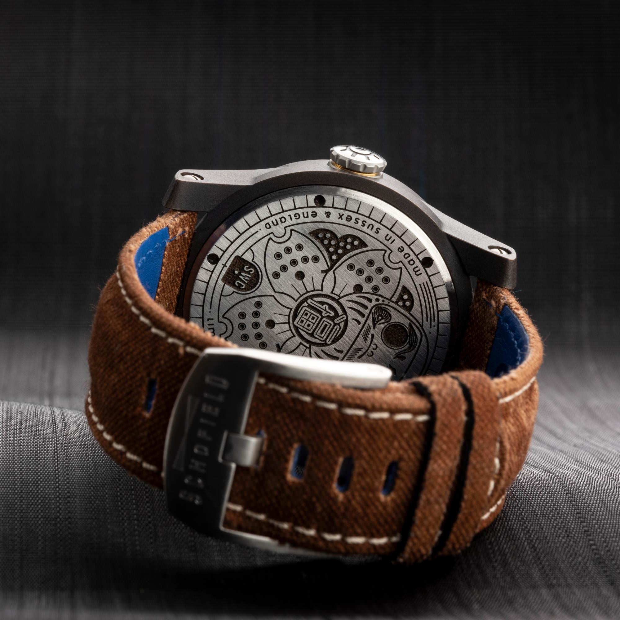 Japanese watch strap
