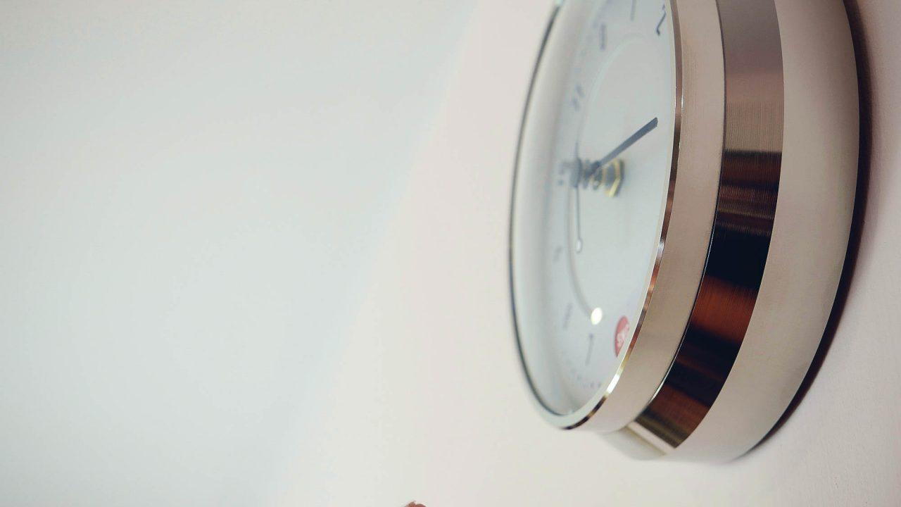 Small wall clock
